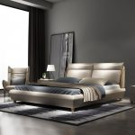 us 2000 rama dymasty genuine leather soft bed modern design bed fashion kingqueen size bedroom furniture in beds from furniture on aliexpress