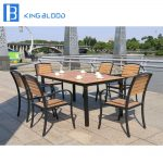 us 3000 outdoor furniture wooden garden patio set in outdoor tables from furniture on aliexpress