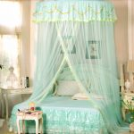 us 4058 10 offking size floral princess bed canopy mosquito net netting bedroom mesh curtains in mosquito net from home garden on aliexpress