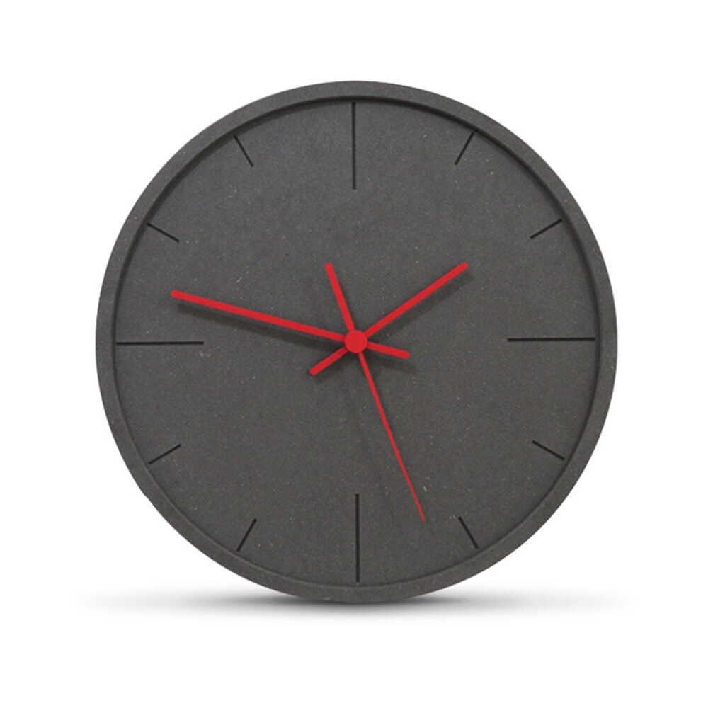 us 7833 pine wood wall clock unique advanced modern minimalist exquisite artistic delicacy european circular silently home decor clock in wall
