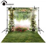 us 958 31 offallenjoy flower garden photography background nature wedding spring backdrop photobooth photocall decor photo prop fabricbackground
