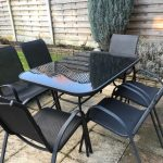 used garden set 6chairs and table in broxbourne hertfordshire gumtree