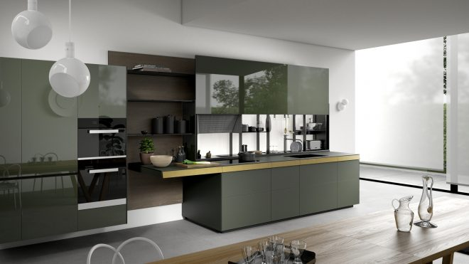 valcucine modern and fitted designer italian kitchens