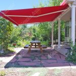 valencia semi cassette retractable patio awning fabric