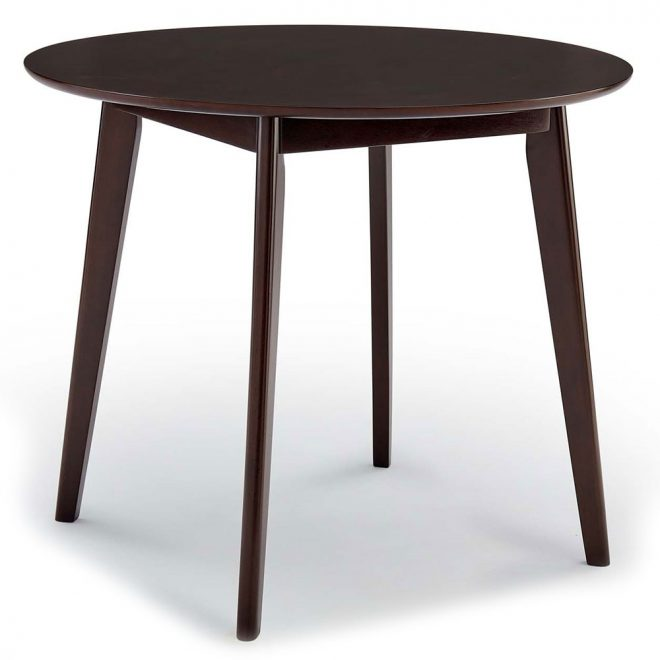 vantage 35 round dining table cappuccino