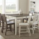 vendor 3985 cayla cy5454ptkw farmhouse counter height table with 18