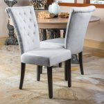 venetian tufted dining chairs set of 2 christopher