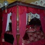 victorian bedroom red bedroom decor canopy bed curtains