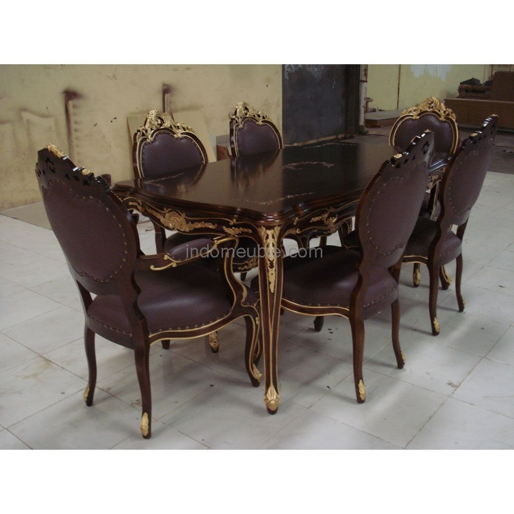 victorian style dining room furniture dining set ds007 mebel