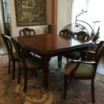 victorian style dining table and 8 chairs in calne wiltshire gumtree
