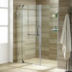 vigo 60 inch frameless shower door 38 clear glass
