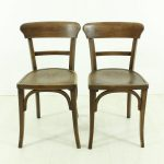 vintage dining chairs 1930s set of 2