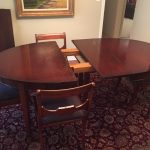vintage drexel heritage mahogany dining room table and