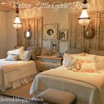 vintage girls bedroom love to do this when the girls are