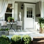 vintage home love backside porch ideas for summer and an