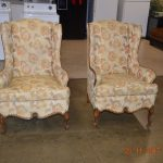 vintage wing back chairs treasure chest since 1979 chair