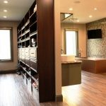 walk in closet bathroom designs youtube