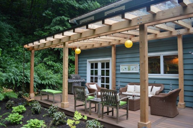 want a covered deck or partially covered deck check out our
