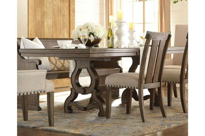 wendota dining room table ashley furniture homestore