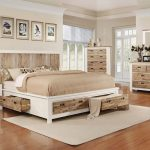 western 5 piece king bedroom set with 32 led tv