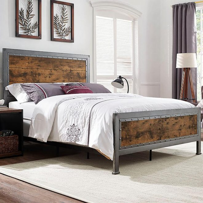 what is a best queen bed frame and headboard metal beds