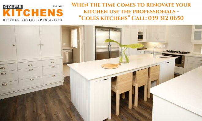 when the time comes to renovate your kitchen use the professionals