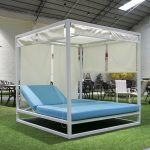 white aluminum outdoor patio furniture canopy bed for hotel buy canopy bed outdoorwhite aluminum outdoor patio furniturecanopy bed product on