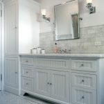 white beadboard bathroom cabinets vanities ideas black and