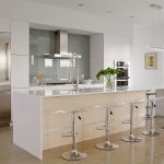 white cabinets with natural wood accents crystal cabinets