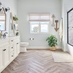 white calcutta transitional bathroom design re bath