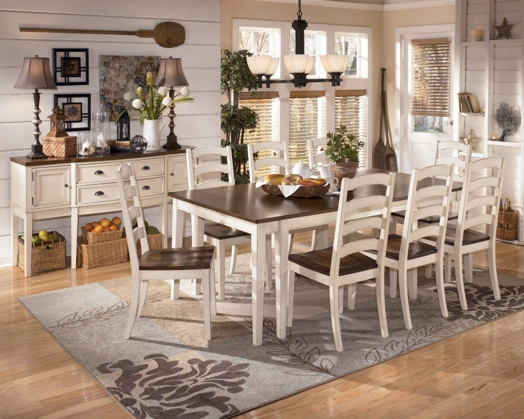 white dining room table ashley furniture kitchen table sets