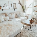 white living room modern boho farmhouse deko idias de