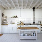 white rustic kitchen pandas house