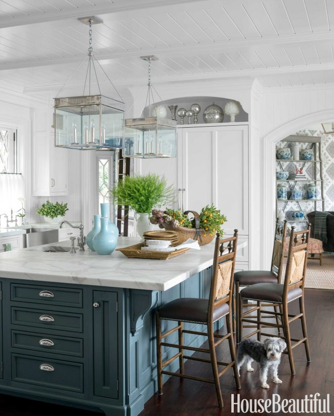 why blue and white will never go out of style kitchens pinterest