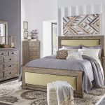 willow upholstered bedroom set weathered grey in 2020