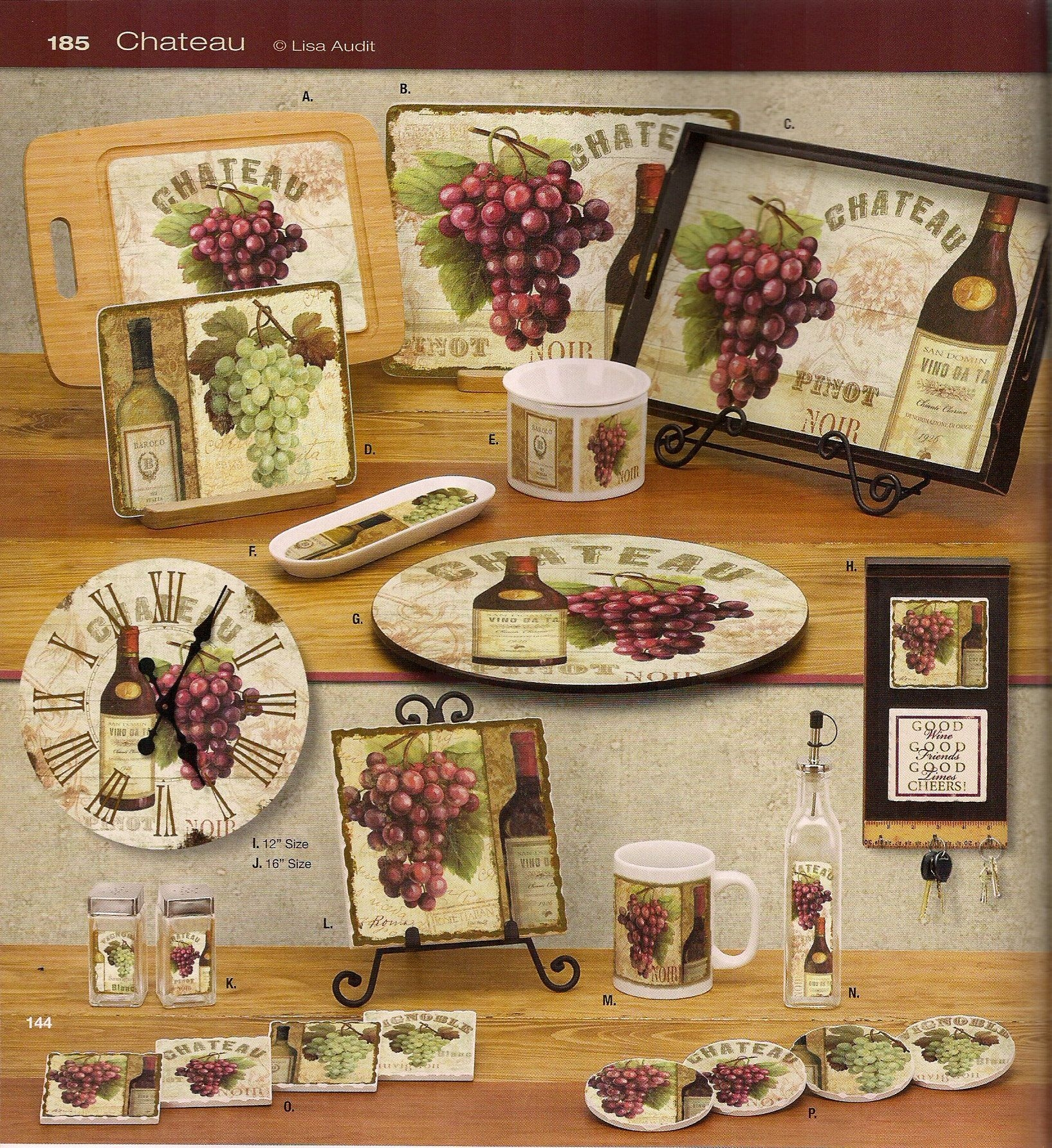 wine and grapes kitchen decor paluxy valley mercantile