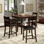 winston porter juno 5 piece counter height dining set reviews