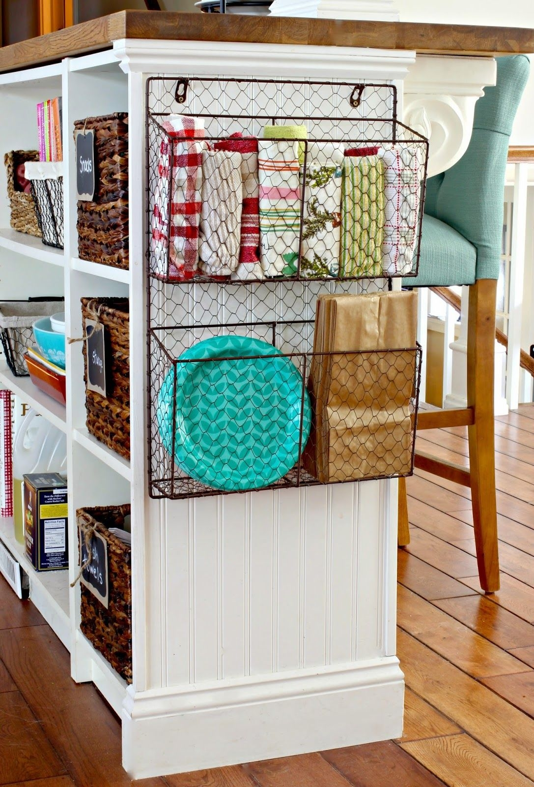 wire baskets for the home pinterest home kitchen and kitchen