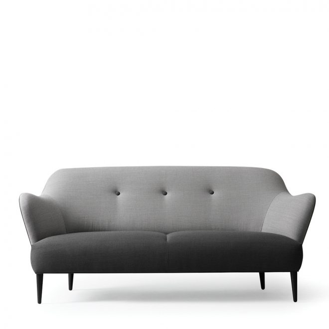 won retro sofa grau