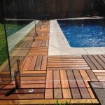 wood deck tiles the newest trend of exterior setting in summer