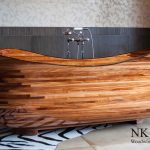 wooden soaking tub for residential pros