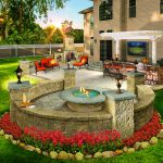 would you enjoy this outdoor living space in your backyard