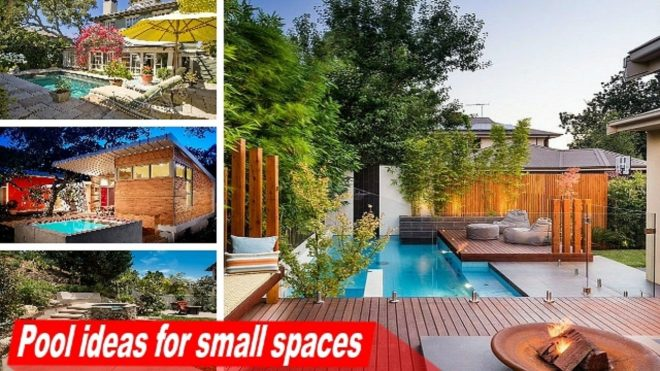 wow pool ideas for small spaces to turn the backyard into a