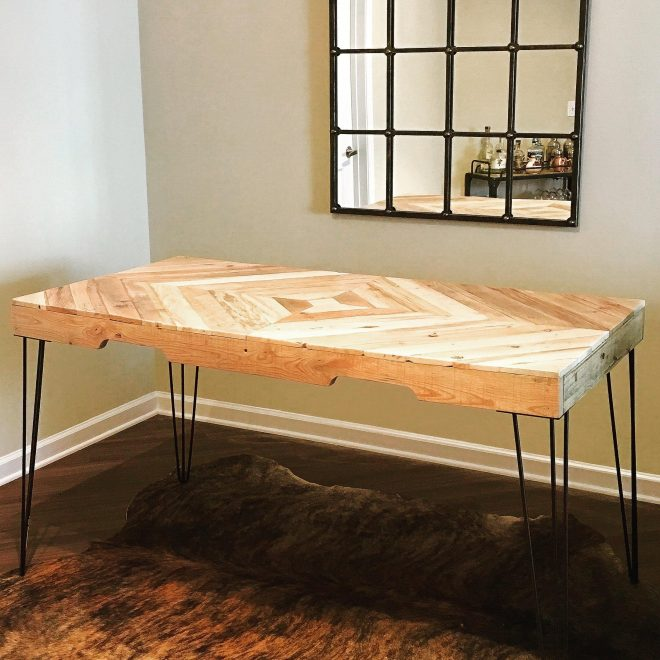 x post from rsomethingimade repurposed pallet wood dining