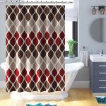 yarmouth fabric shower curtain set
