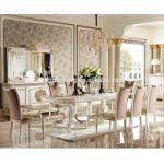 yb62 1 luxury dining room furniture set antique classical dining sets furniturebritish windsor castle style buy classic luxury wooden dining room